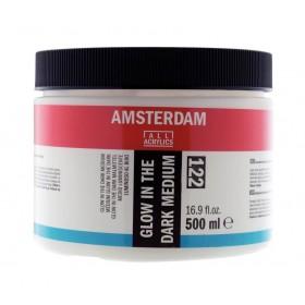 Talens Amsterdam Glow-In-The-Dark Medium 122 Jar 500 ml