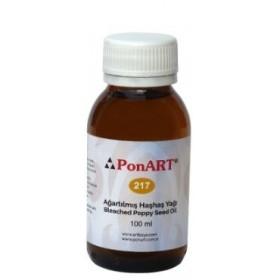 Ponart Ağartılmış Haşhaş Yağı (Lukas Poppy Seed Oil) 100 ml.