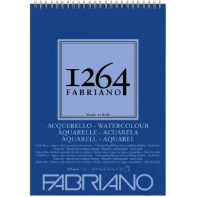 Fabriano 1264 Suluboya Defteri Spiralli 300 gr. 20 Yp. A5