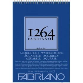 Fabriano 1264 Suluboya Defteri Spiralli 300 gr. 30 Yp. A4