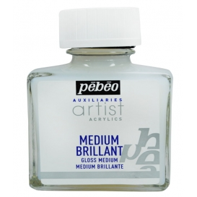 Pebeo Acrylic Gloss Medium Parlak Akrilik Boya Medyumu 75 ml.