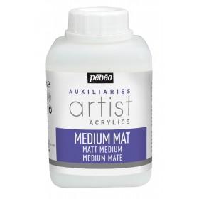 Pebeo Acrylic Matte Medium Mat Akrilik Boya Medyumu 500 ml.