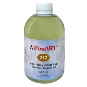 Ponart Ağartılmış Keten Yağı (Lukas Bleached Linseed Oil) 500ml