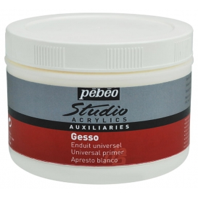 Pebeo Acrylic Gesso Studio Astar Boya 500 ml.