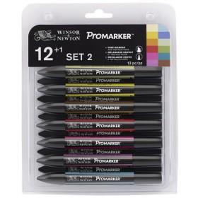 Winsor & Newton ProMarker Kalem 12+1 Set 2
