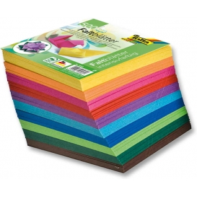 Folia Origami Kağıdı Mini 5x5 cm. 10 Renk 500 Adet