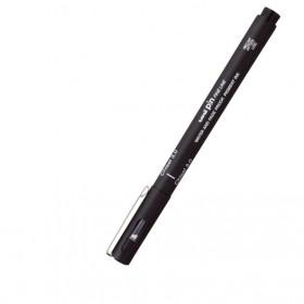 Uni Pin Chisel 2.0mm Fine Liner Drawing Pen Siyah