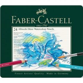 Faber Castell Albrecht Dürer Aquarel Boya 24 Renk
