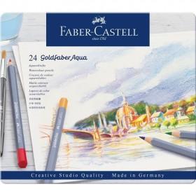 Faber Castell Goldfaber Aqua Boya Kalemi 24'lü