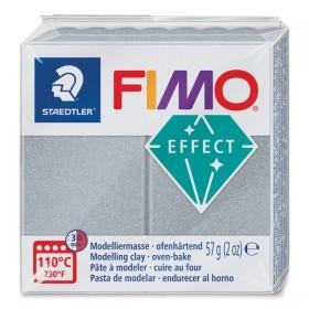 Staedtler Fimo Effect Polimer Kil 81 Metalik Silver