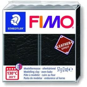 Staedtler Fimo Leather Polimer Kil 909 Black