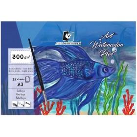 Alex Schoeller ART Watercolour Pad 300 gr 12'li A3