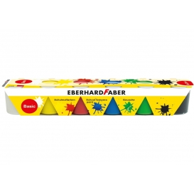 Eberhard Faber School Tempera 6x25ml Set Basic