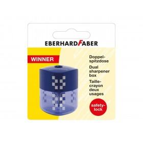 Eberhard Faber Winner Çiftli Kalemtraş Mavi Blisterli