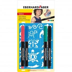 Eberhard Faber Tattoo Marker 4 Blisterli