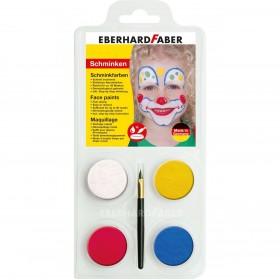 Eberhard Faber Yüz Boyası 4 renk Palyaço