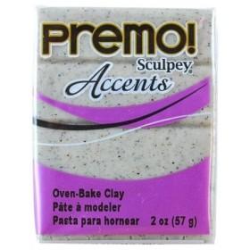 Sculpey Premo Accents Ekstra Efektli Polimer Kil 5065 Gray Granite