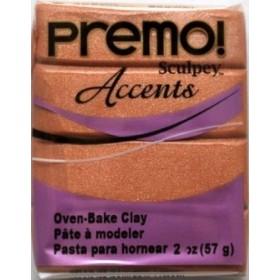 Sculpey Premo Accents Ekstra Efektli Polimer Kil 5067 Copper