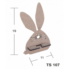 Pon Pon Tavşan Telefon Standı Ahşap Obje