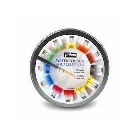 Pebeo Aquarelle Fine 1/2 Tablet Sulu Boya 12 Renk Provence Peyzaj Renkleri