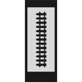 U033 Stencil 10x25 cm