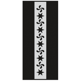 U040 Stencil 10x25 cm