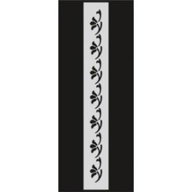 U041 Stencil 10x25 cm
