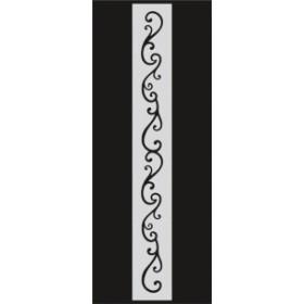 U043 Stencil 10x25 cm