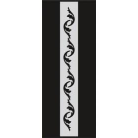 U044 Stencil 10x25 cm