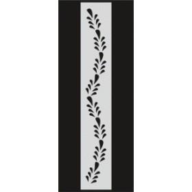 U045 Stencil 10x25 cm