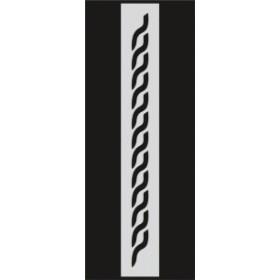 U047 Stencil 10x25 cm