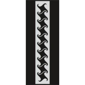 U049 Stencil 10x25 cm