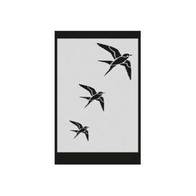 S031 Stencil 9x16 cm