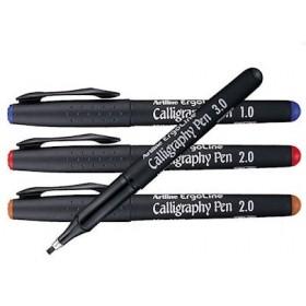 Artline Ergoline Kaligrafi Kalemi 3.0 mm. Kırmızı