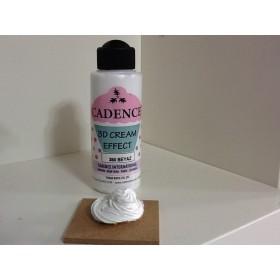 Cadence 3D Krem Efekti 350 Beyaz 120 ml