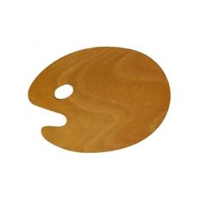Lutart Oval Ahşap Palet 40x50 cm.