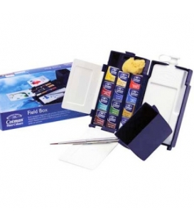 Winsor & Newton Cotman Field Box 1/2 Tablet Sulu Boya 12 Renk