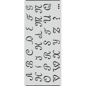 A002 Harf Stencil