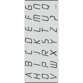 A003 Harf Stencil