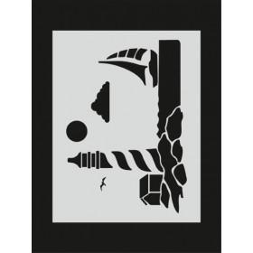 M062 Stencil 14x20 cm
