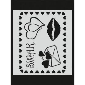 M063 Stencil 14x20 cm