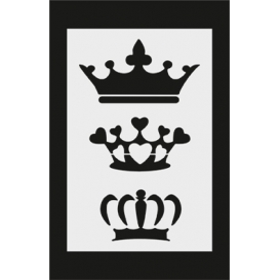 S049 Stencil 9x16 cm