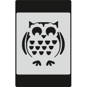 S052 Stencil 9x16 cm