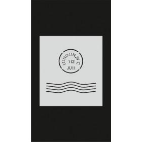 S063 Stencil 9x16 cm