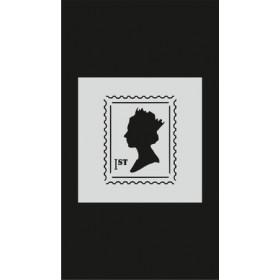 S071 Stencil 9x16 cm