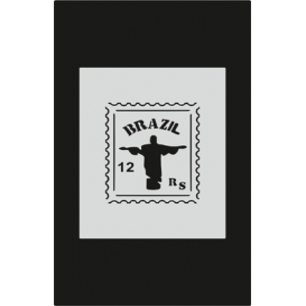 S076 Stencil 9x16 cm
