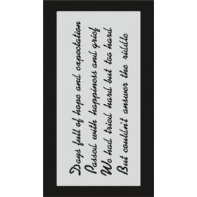 S077 Stencil 9x16 cm
