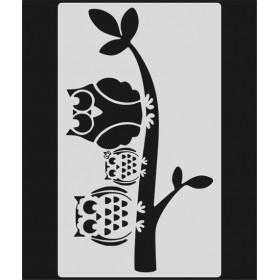 L023 Stencil 20x24 cm