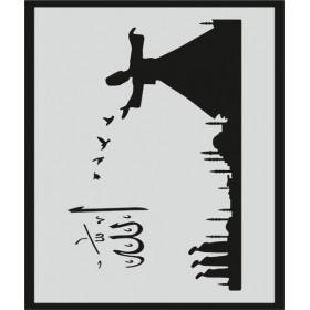 L026 Stencil 20x24 cm
