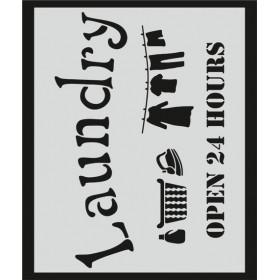 L029 Stencil 20x24 cm